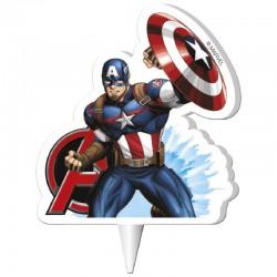 Lumanare Capitan America 2D
