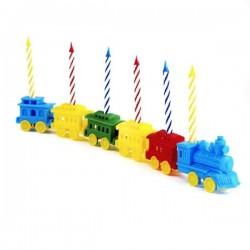 Trenulet cu lumanari