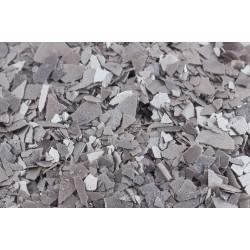 Foite decor argintii din zahar