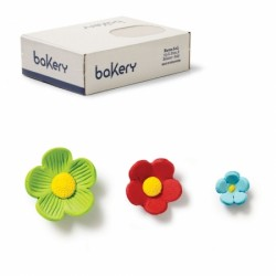 Mini floricele asortate din zahar