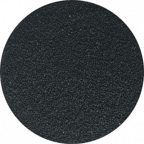 Perle fine 2 mm - Negru