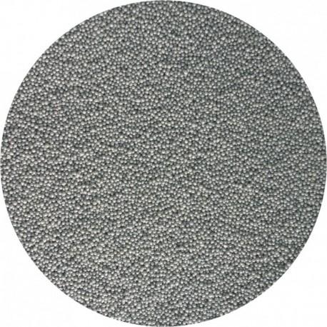 Perle fine 2 mm - Argintiu