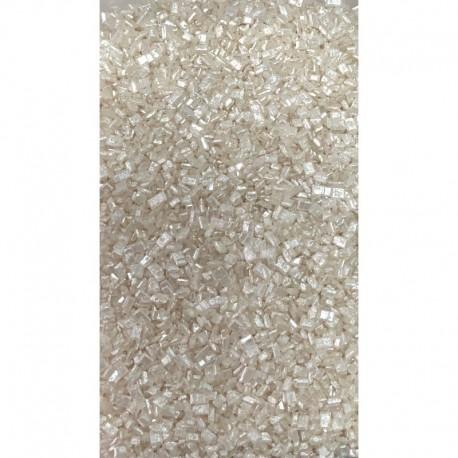 Cristale zahar alb perlat